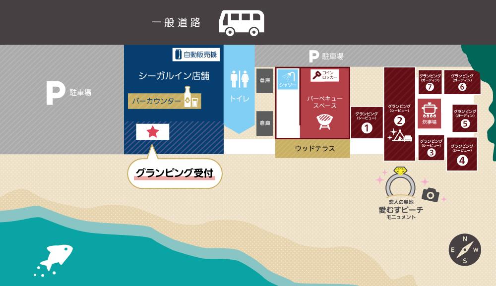 錦浜エリアマップ